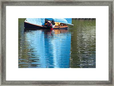 Sailing Framed Print by Andrew  Michael