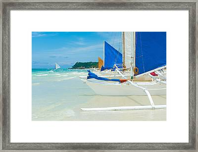 Sailing Boats Framed Print by Hans Engbers