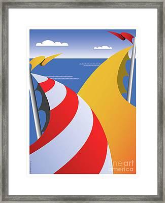 Sails Framed Print by Joe Barsin