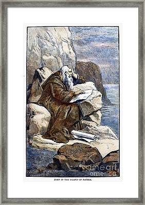 Saint John The Evangelist Framed Print by Granger