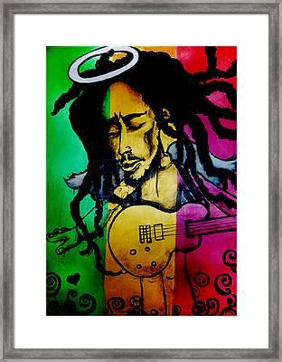 Saint Marley Framed Print by Asa Charles