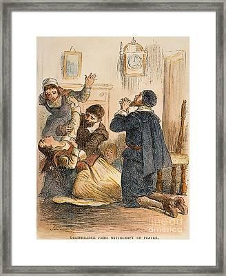 Salem Witchcraft, 1692 Framed Print