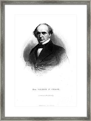 Salmon Portland Chase Framed Print