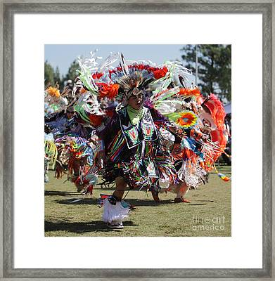 San Manuel Indians Pow Wow Framed Print