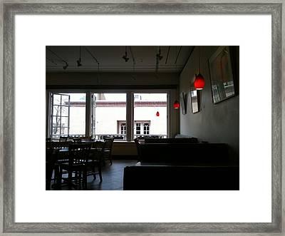 Santa Fe Eatery Framed Print