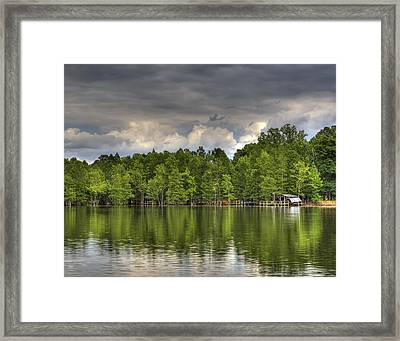 Santee Framed Print by Donni Mac