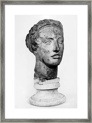 Sappho (fl. C600 B.c.) Framed Print by Granger