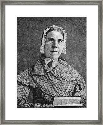 Sarah Moore Grimke Framed Print by Granger