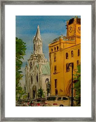Savannah Noon Framed Print by Pete Maier
