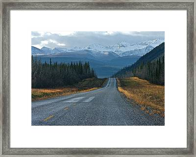Framed Print featuring the photograph Scenic Highway by Scott Holmes