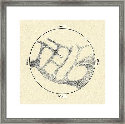 Schiaparelli's Observations Of Mercury Framed Print by Detlev Van Ravenswaay