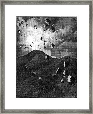 Science Fiction Story, 19th Century Framed Print by