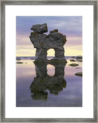 Sea Arch Framed Print by Bjorn Svensson