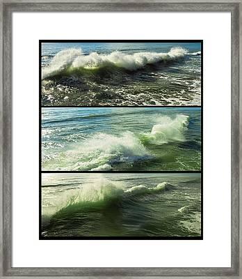 Sea Waves Framed Print by Svetlana Sewell