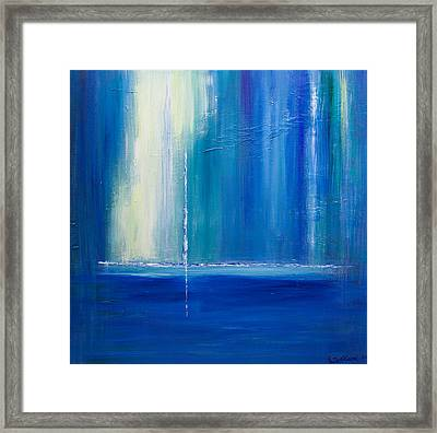 Searching For The Light 2 Framed Print by Dolores  Deal