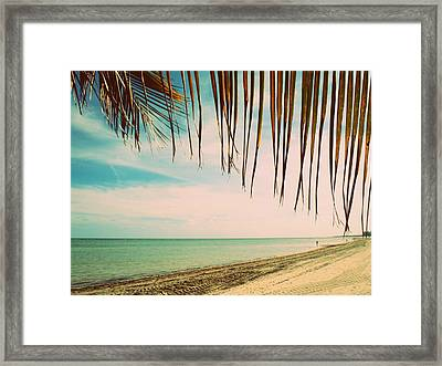 Seaside Canopy Framed Print by JAMART Photography