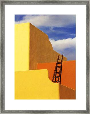 Sedona Building Framed Print