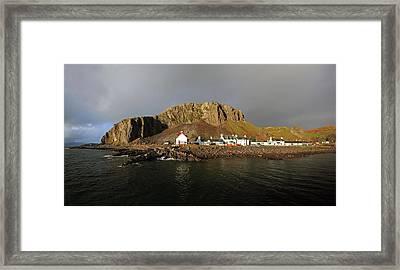 Seil Island Framed Print
