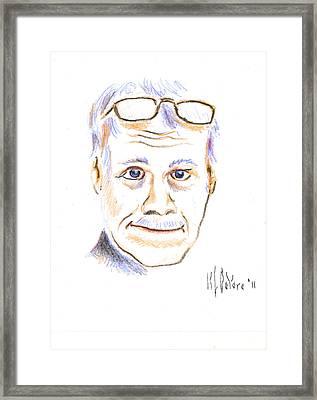 Self-portrait Framed Print by Kip DeVore