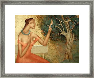 Self-portrait Framed Print by Nicolay  Reznichenko