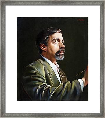Self Portrait  Framed Print by Patrick Anthony Pierson
