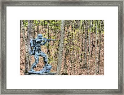 Semper Fi Framed Print by JC Findley