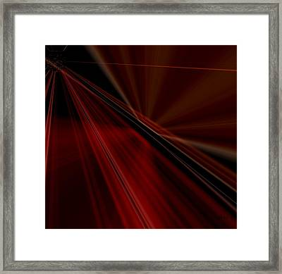Framed Print featuring the painting Seranade by Kathy Sheeran