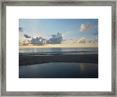 Serenity Framed Print by Sheila Silverstein