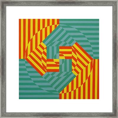 Seventeen Sunrises Framed Print