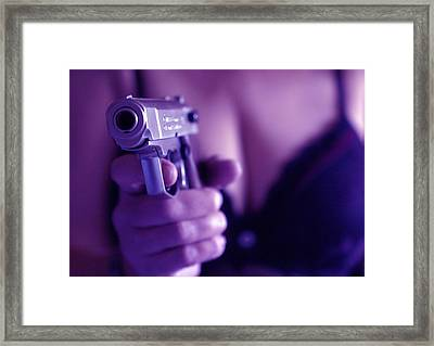 Sex And Crime Framed Print by Franz Roth