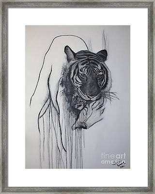 Shades Of Grey Framed Print by Sandi Dawn McWilliams