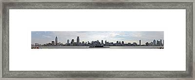 Shanghai Bund Panorama - Daytime Framed Print