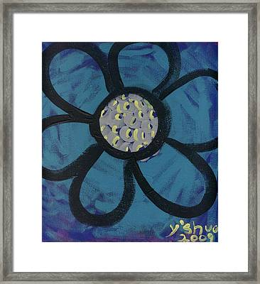 She Loves Me Framed Print by Yshua The Painter