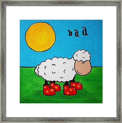 Sheep Framed Print