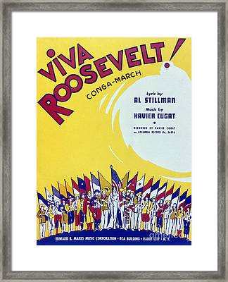 Sheet Music Cover, 1942 Framed Print by Granger