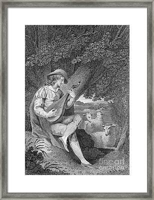 Shepherd Framed Print