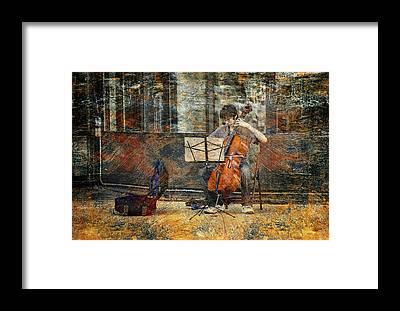 Street Muscians Framed Prints