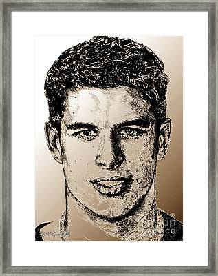 Sidney Crosby In 2007 Framed Print by J McCombie