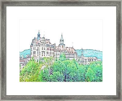 Sigmaringen Palace Germany Framed Print by Joseph Hendrix
