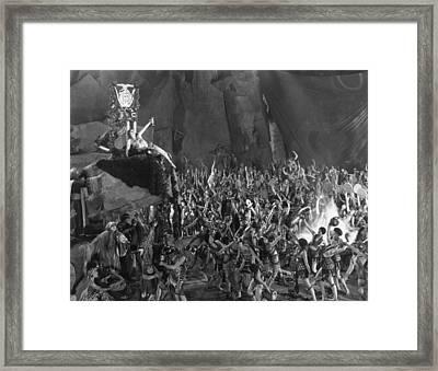 Silent Film Still: Orgies Framed Print by Granger