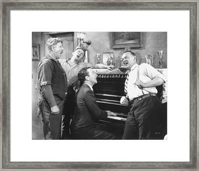 Silent Movie Still Framed Print by Granger