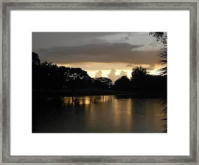 Silent Space Framed Print by Sheila Silverstein