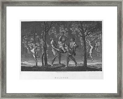 Silenus Framed Print by Granger