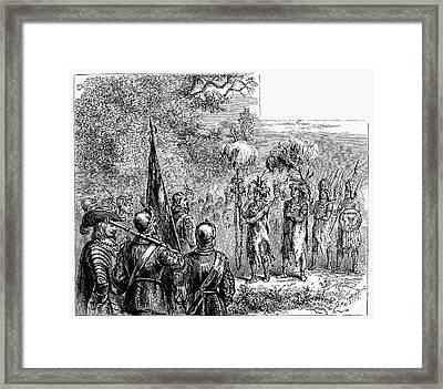 Sir Francis Drake Framed Print by Granger
