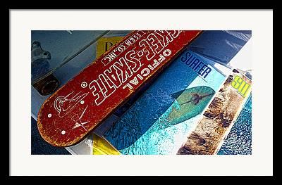 Surfer Magazine Framed Prints