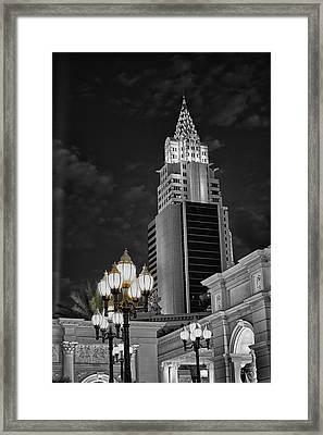 Skyscraper Framed Print by Stephen Campbell