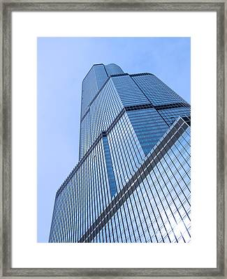 Skyward Framed Print by Ann Horn