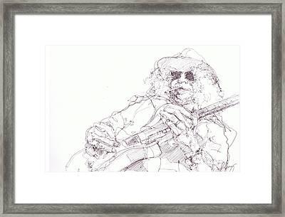 Slash Framed Print by Bobby LeVangie
