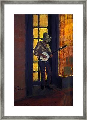 Slim Pickens Framed Print by Cheryl Whitehall