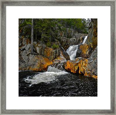 Smalls Falls 3 Framed Print